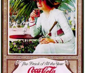 可口可乐100年以前是个什么样