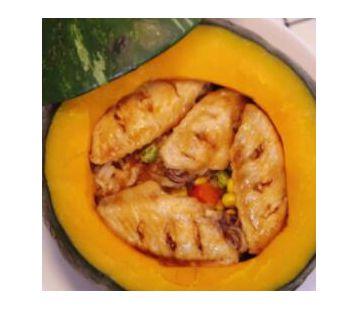 南瓜鸡翅焖饭
