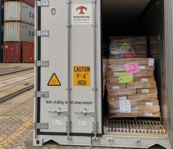 """青岛:入境""""空箱""""超重被查 里面竟有28吨散发恶臭变质食品"""